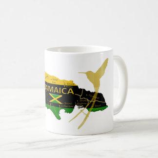 Jamaika-Gemeinde-Farbgoldsummenvogel-Tasse Tasse