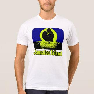 Jamaika-Insel-Sonnenuntergang-Flitterwochen-T - T-Shirt