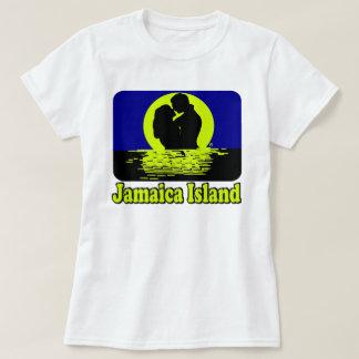 Jamaika-Insel-Sonnenuntergang-T - Shirt