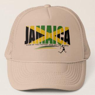 Jamaika-Zuhause des schnellsten Mannes auf dem Truckerkappe
