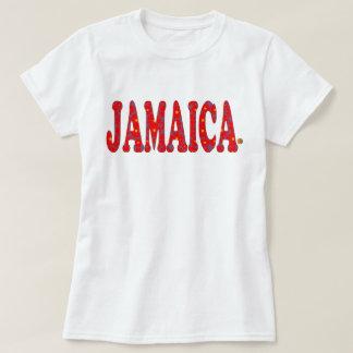 Jamaikablumenrot blüht Jamaika-T - Shirt