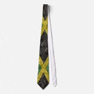 Jamaikanische Flagge - gekrümmt Krawatte