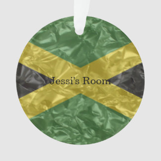 Jamaikanische Flagge - gekrümmt Ornament