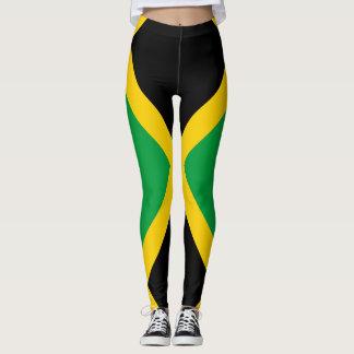 Jamaikanische Flagge voll Leggings
