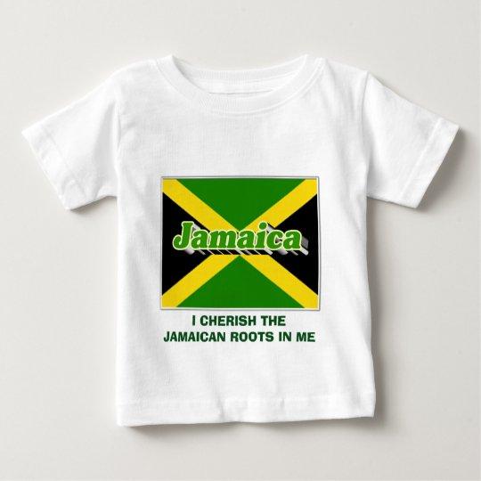 JAMAIKANISCHE WURZELN BABY T-SHIRT