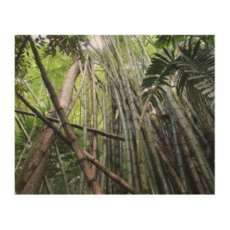 Jamaikanischer riesiger Bambus-hölzerner Holzwanddeko