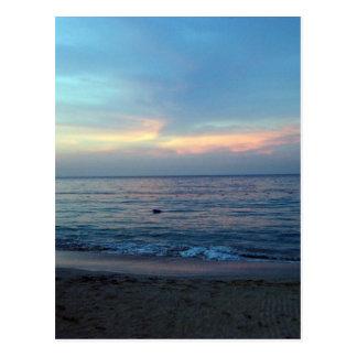 Jamaikanischer Sonnenaufgang Postkarte