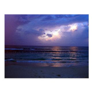 Jamaikanischer Sonnenuntergang Postkarte