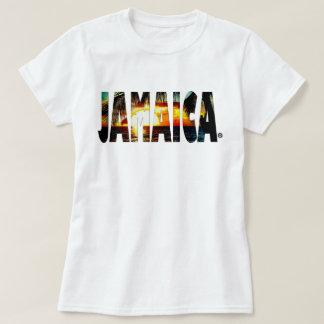 Jamaikanischer T - Shirt Jamaika-Sonnenuntergangs