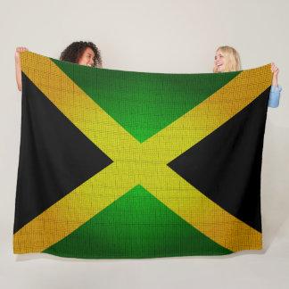 Jamaikas Flagge färbt Designer-Decke Fleecedecke