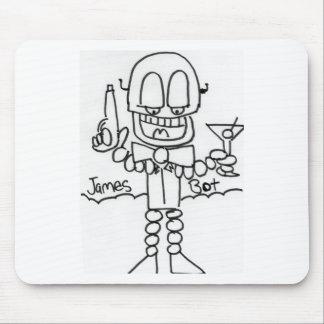 James   Bot Mousepads