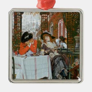 James Jacques Joseph Tissot | ein Mittagessen Silbernes Ornament