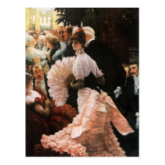 James Tissot- die politische Dame Postkarten