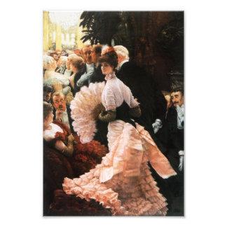 James Tissot die politische Dame Print Kunstfotos