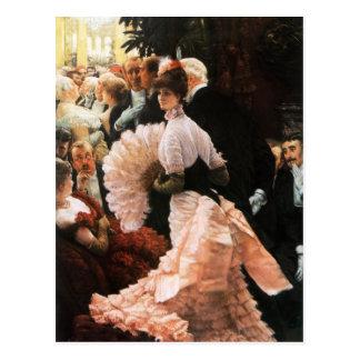 James Tissot die politische Damenpostkarte Postkarte