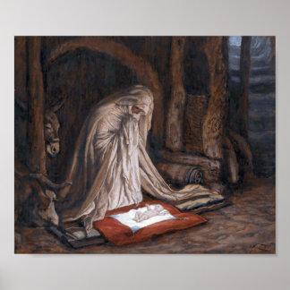 """James Tissots """"die Geburt unseres Lords Jesus Poster"""