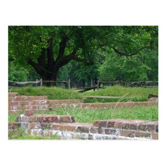 Jamestown Ruinen Postkarte
