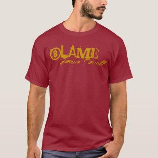 """Jamie Carroll """"Schuld-Shirt """" T-Shirt"""