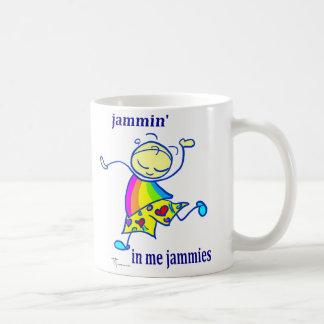 Jammin in mir jammies Kaffee-Tasse Kaffeetasse