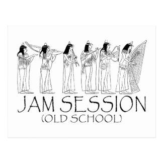 Jamsession Postkarte