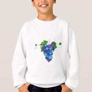 Jamurissa - quadratische Trauben Sweatshirt