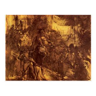 Jan. III in Wien bis Januar Matejko Postkarte