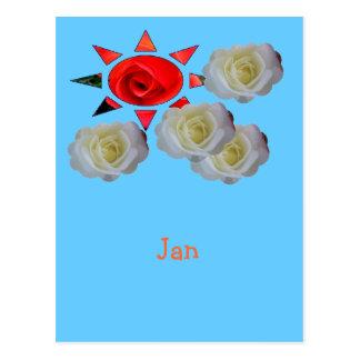 Jan. Postkarte
