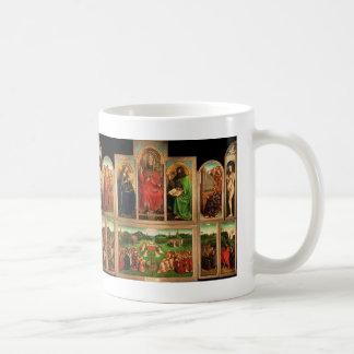 Jan. van Eyck- The Gent Altarpiece Kaffeetasse