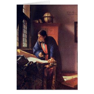 Jan. Vermeer - der Geograph Karte