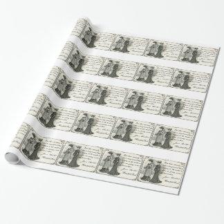 Jane Austen: Hübsche Frauen Geschenkpapier