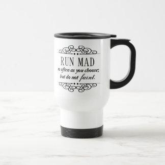 Jane Austen: Lassen Sie wütenden Reise-Kaffee oder Reisebecher