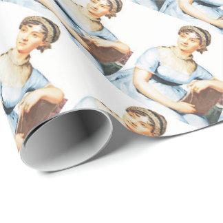 Jane Austen-Thema-Packpapier Geschenkpapier