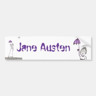 Jane Austens gruseliger Weg Autoaufkleber