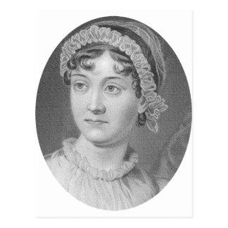Jane Austens Porträt einfach Jane Postkarte