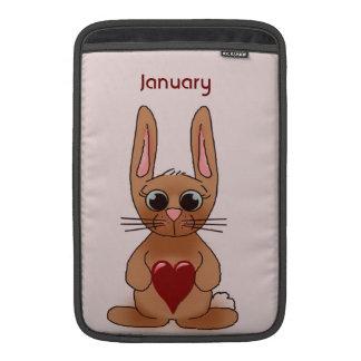 Januar-Kaninchen Sleeves Fürs MacBook Air