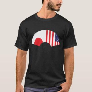 Japan-Amerikanischer Fan-T - Shirt