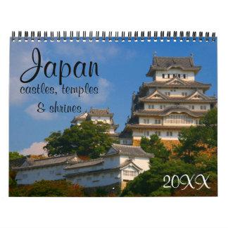 Japan-Architektur 2018 Kalender