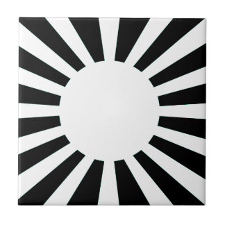 Japan-aufgehende Sonne-Flagge Keramikfliese