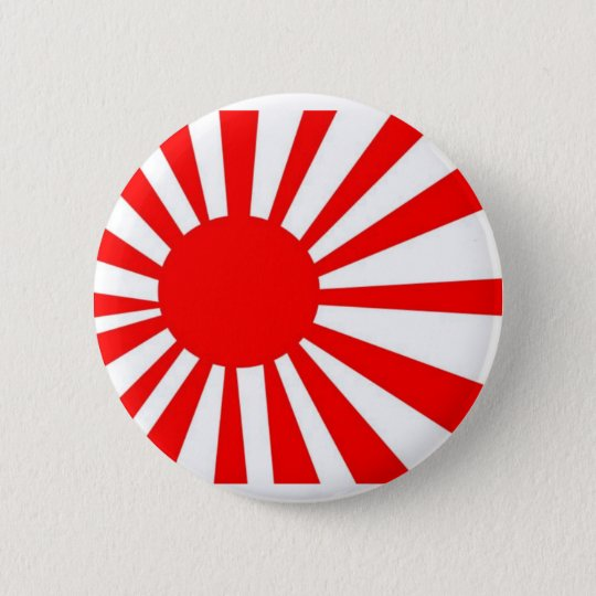 Japan-aufgehende Sonne-Flagge Runder Button 5,7 Cm