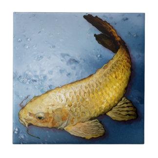 Japan koi Fische Kleine Quadratische Fliese