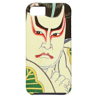 Japaner Kabuki Schauspieler-Kunst durch Natori iPhone 5 Etui