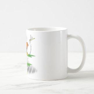 Japaner Koi Fisch-Teich-Entwurf Kaffeetasse