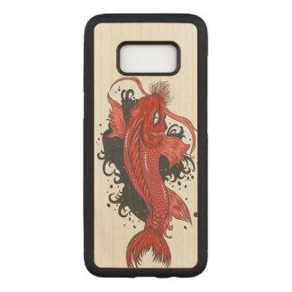 Japaner Koi Fische Carved Samsung Galaxy S8 Hülle