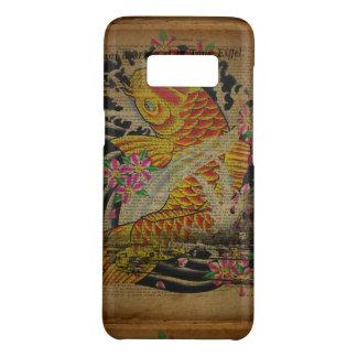 japanische Fische koi Tätowierung des rustikalen Case-Mate Samsung Galaxy S8 Hülle