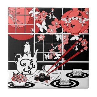 Japanische Küche Fliese
