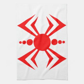Japanische Spinne Geschirrtuch