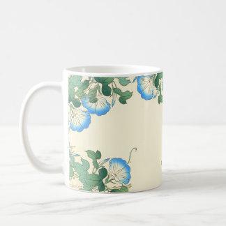 Japanische Winden-Blumen-BlumenTasse Kaffeetasse