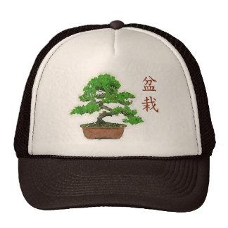 Japanischer Bonsais-Baum-Sommer-Fernlastfahrer-Hut Kultmütze
