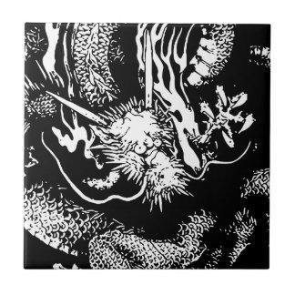 Japanischer Drache Keramikfliese