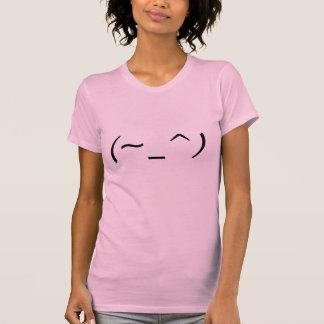 (~_^) japanischer Emoticon Wink T-Shirt